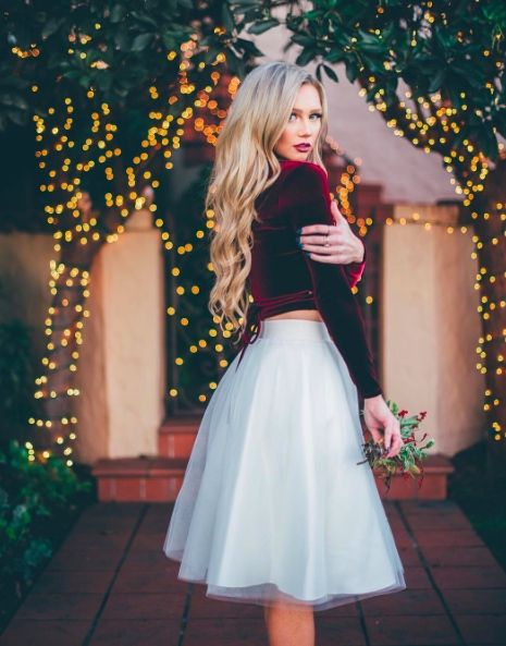 5 Festive Holiday Looks, Courtesy of 5 Denver Fashion Bloggers   Holiday fashion   Tulle Skirt   Christmas outfit: