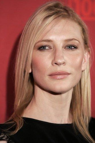 Today I was told I look like a young Cate Blanchett