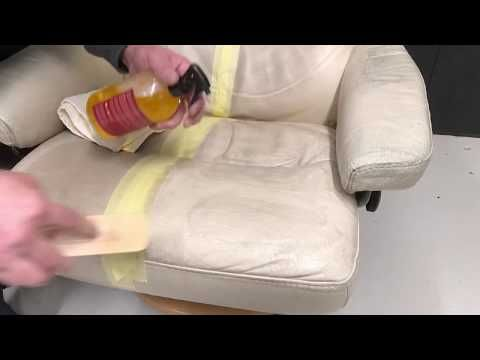 Youtube Leather Diy Leather Sofa Leather Cleaning
