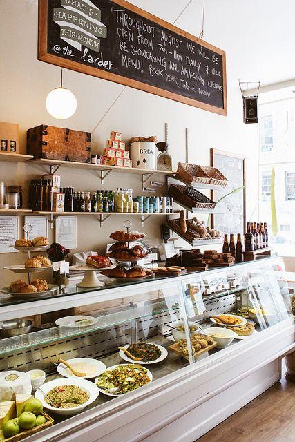 The Edinburgh Larder | Edinburgh:  Adorable cafe.  Go for breakfast or lunch.  Well worth it.