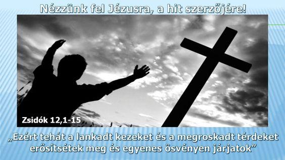 Nézzünk fel Jézusra