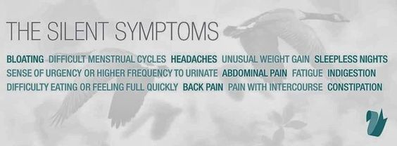 September is Ovarian Cancer Awareness month. Know the symptoms - Early detection saves lives!