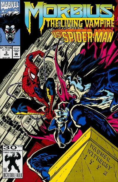 Morbius: The Living Vampire # 3 by Ron Wagner & Mike Witherby