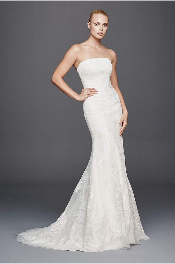 Find the perfect Zac Posen wedding dresses at David's Bridal exclusive Truly Zac Posen bridal collection, including dresses in his favorite designs.