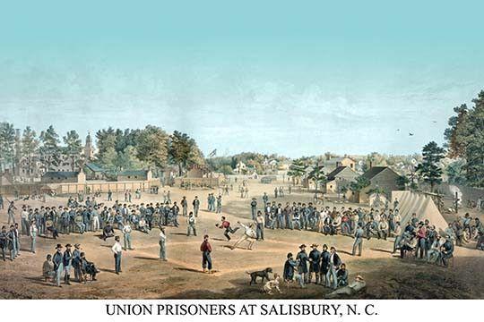 Union prisoners at Salisbury, N.C.