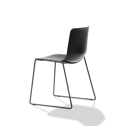 pato chair black or white welling ludvik fredericia furniture black or white furniture