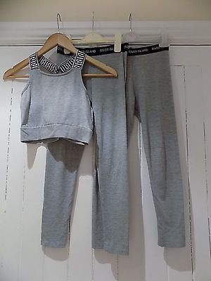 River island girls cropped top & set of 2 leggings / outfit size 9-10 years  https://t.co/wwjyofaxTc https://t.co/fY6Lwi4d9M