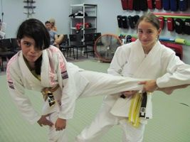 Instructing your kids in the discipline of self defense is an excellent investment.