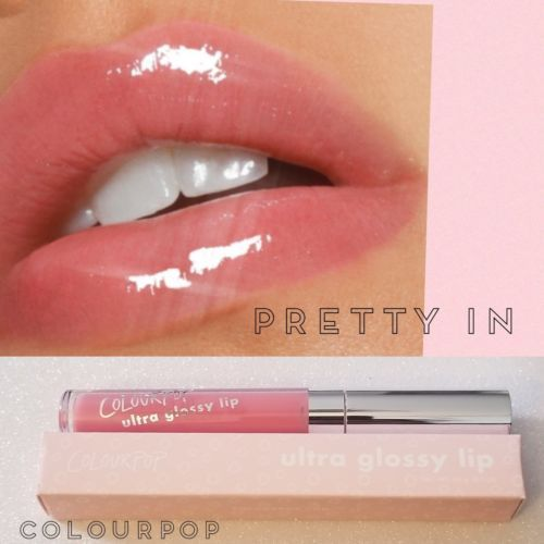 Colourpop Ultra Glossy Lip Pretty In Lip Gloss Sheer Baby Pink