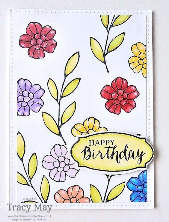 Rose Wonder from Stampin' Up! Tracy May
