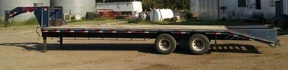 $6,500.00 - For Sale: Big Tex  30' Gooseneck Trailer