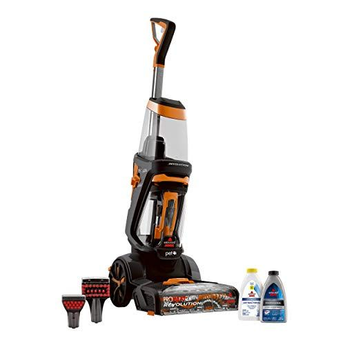 Bissell Proheat 2x Revolution Pet Full Size Upright Carpet Cleaner 1548f Orange Pet Carpet Cleaners Carpet And Upholstery Cleaner Carpet Cleaners