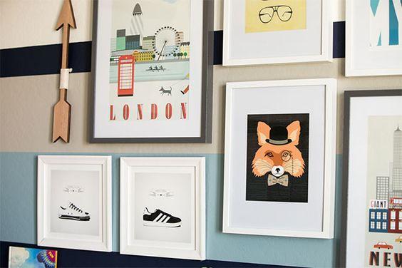 Big Boy Room with Gallery Wall: