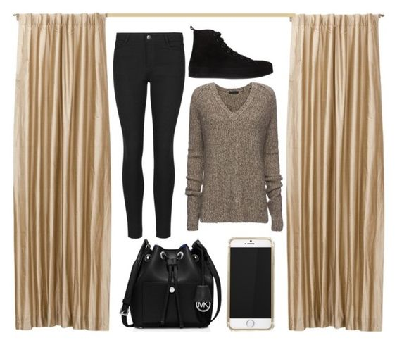 """""""Random #7"""" by applewhite03 ❤ liked on Polyvore featuring ATM by Anthony Thomas Melillo, Ann Demeulemeester, MICHAEL Michael Kors and Random"""