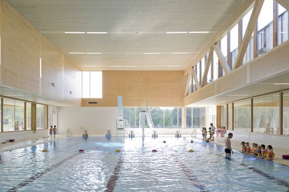 Gallery of Multifunctional swimming pool complex De Geusselt / Slangen+Koenis Architects - 5