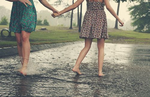 Dancing in the rain...One of my favorite pastimes as a kid.