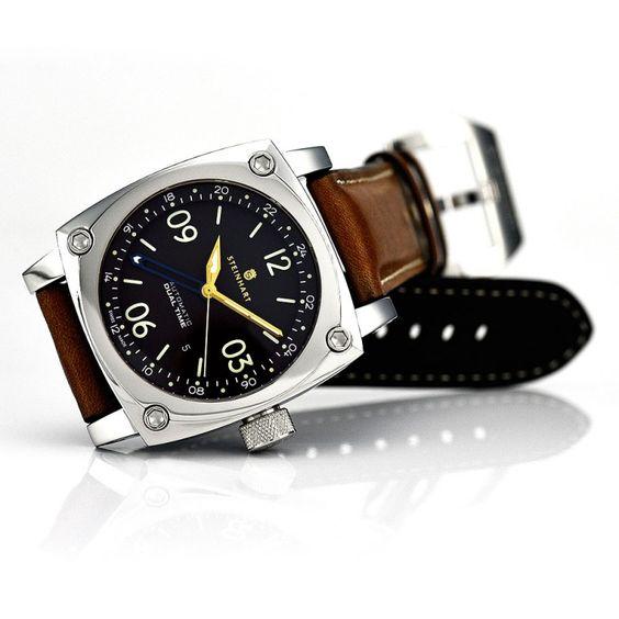 Aviation Dual Time Premium - Fliegeruhren - Steinhartwatches
