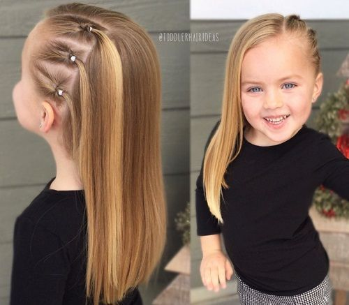 30 Best And Easy Hairstyles For Little Girls Below 12 Years In 2020 Easy Hairstyles Hair Styles Little Girl Hairstyles