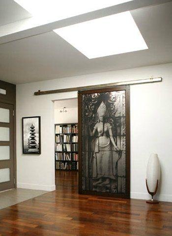 Puerta corredera de interior pr ctica y decorativa - Puertas originales interiores ...
