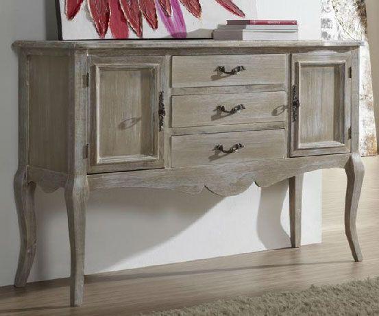 Como pintar muebles de pino estilo vintage buscar con - Cajoneras estilo vintage ...