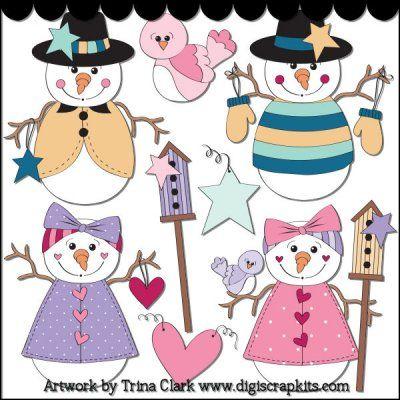 Snow Wonder 1 Clip Art