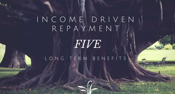 Five Long Term Benefits Of IncomeDriven Repayment Idr  Ce Cole