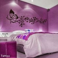 Chambre violette tattoo d co chanbre pinterest d co - Deco chambre violette ...