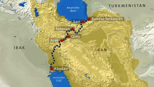 Wir Entdecken Den Iran Auf Der Transiranischen Eisenbahn Der