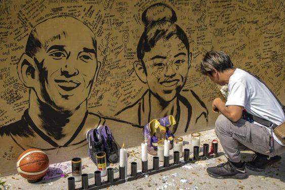 Artists Around The World Immortalize Kobe And Gianna Bryant Kobe
