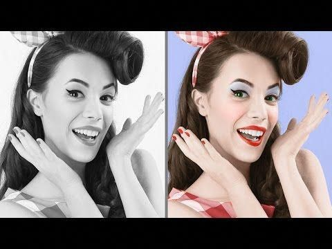 Coloring Black And White Photos Photoshop