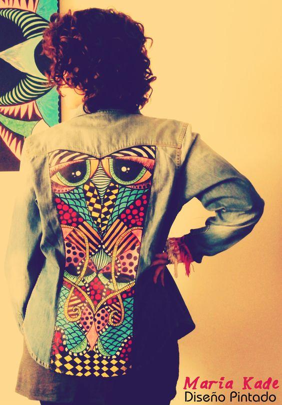 #tachas #jean #colores #indumentaria #moda  #customize #diseño #libertad #tramas #buho #psico