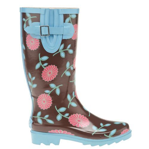 Stone Creek Women's Flower Rubber Boots | Shoes <3 | Pinterest ...