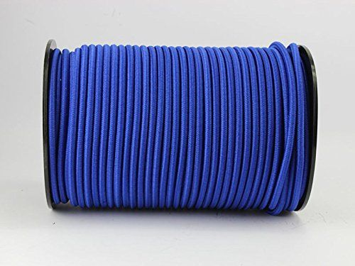 Seil Plane 8mm Expanderseil blau 20m Gummiseil Planenseil Spannseil elast