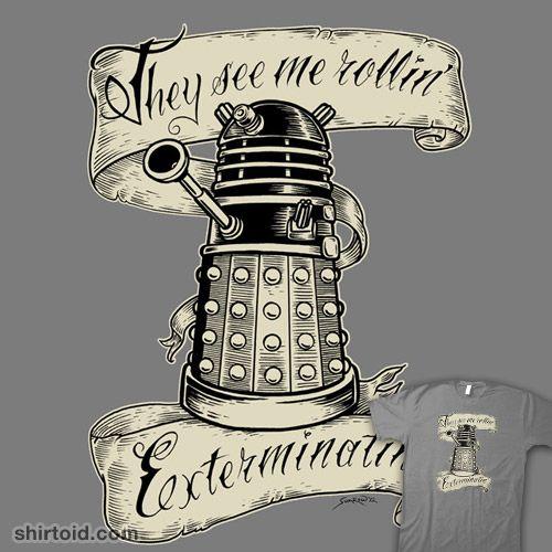 Rollin' Daleks t-shirt
