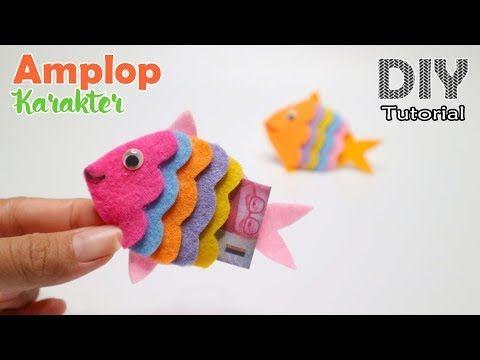 Ide Kreatif Diy Angpau Karakter Ikan Dari Kain Flanel Kreasi