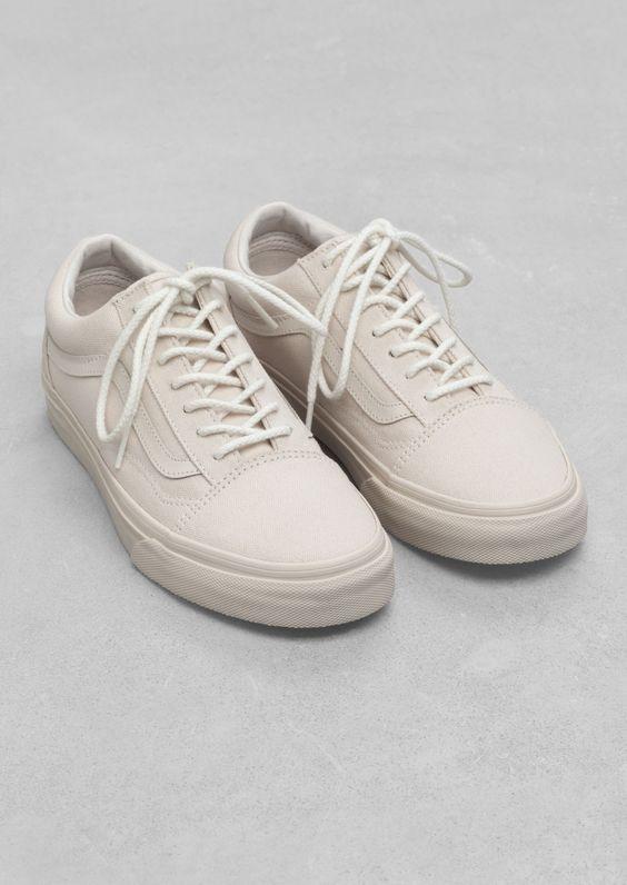 Vans Old Skool Chunky Glitter - Femme Chaussures