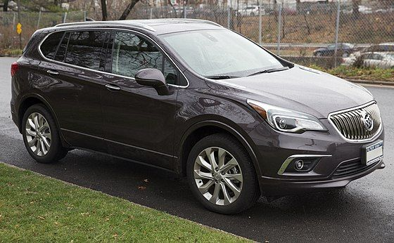2016 Buick Envision Front Right Buick Envision Wikipédia Buick Envision Buick Envision