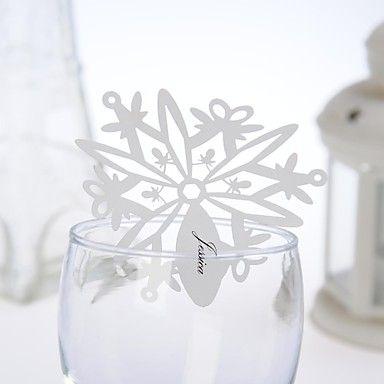 Belle carte Lieu neige Design (Set of 12) – EUR € 2.11