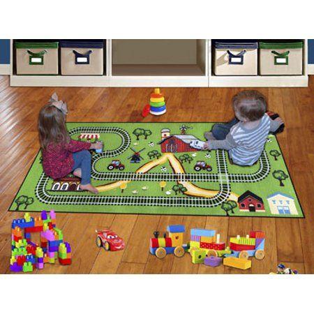 Baby Playroom Rug Childrens Play Mat Kids Playing
