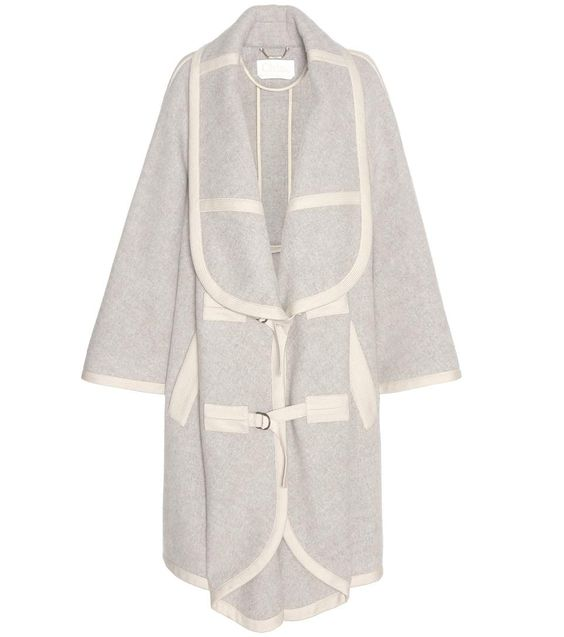 CHLOÉ Llama-Blend Coat. #chloé #cloth #coats