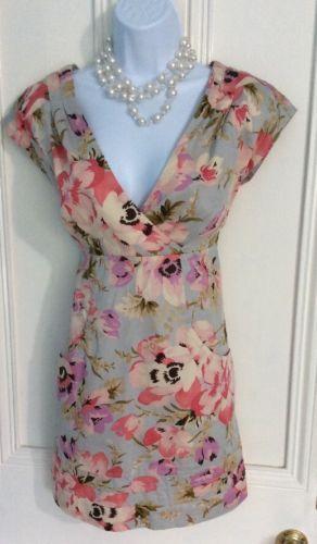23€ TOM-JOULE-joules-MARCIA-robe-tunique-couleur-parasol-imprime-fleuri-10-court