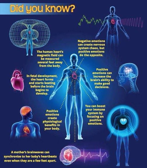 The hearts magnetic field can be measured several feet from the body
