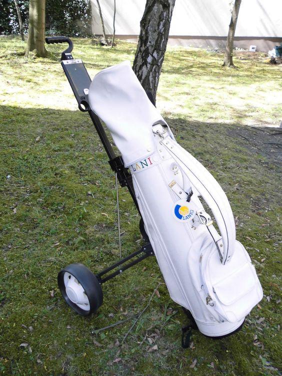 Golfset Komplettes mit Schiebecar Rechtshand