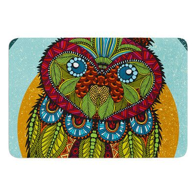 KESS InHouse Owl by Art Love Passion Bath Mat