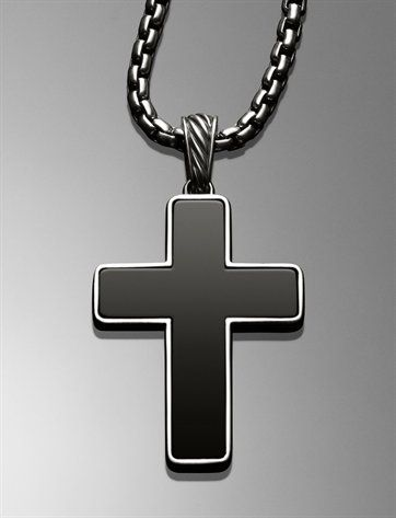 Love the Yurman cross ... it has some significant meaning behind it too!