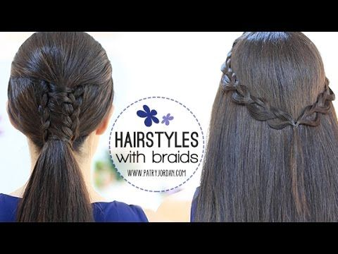ponytail and more hairstyles waterfalls style twists braids hairstyles ...
