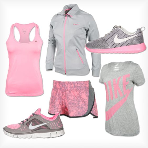 U0026quot;Matchy Matchyu0026quot; By Finishline On Polyvore. Wow I Want This Whole Workout Outfit . | Workout ...
