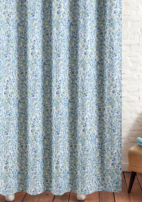M Style Monet S Garden Shower Curtain Garden Shower Elegant