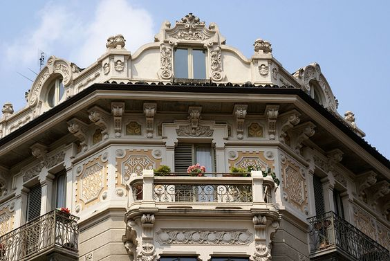 Torino, Le Chiuse, Jugendstilhaus | Flickr - Photo Sharing!