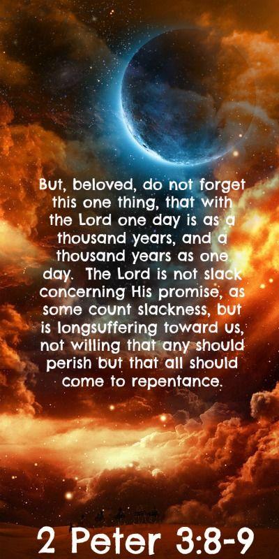 2 Peter 3:8-9